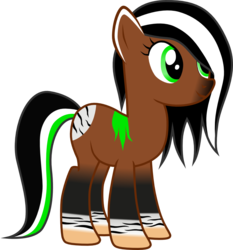 Size: 1073x1151 | Tagged: artist:chipmagnum, earth pony, female, mare, oc, oc:ally, pony, safe, simple background, solo, transparent background