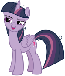 Size: 6467x7567 | Tagged: safe, artist:andoanimalia, mean twilight sparkle, alicorn, pony, the mean 6, absurd resolution, clone, female, mare, open mouth, simple background, solo, transparent background, vector