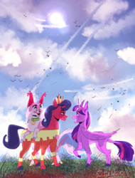 Size: 1280x1687 | Tagged: safe, artist:bl0zucchini, twilight sparkle, alicorn, cat, pony, catified, crossover, lego, ponified, queen watevra wa-nabi, spoilers for another series, the lego movie, the lego movie 2: the second part, twilight sparkle (alicorn), unikitty