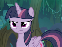 Size: 1222x939 | Tagged: alicorn, clone, cropped, female, frown, mare, mean twilight sparkle, pony, safe, screencap, solo, the mean 6, unamused
