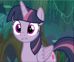 Size: 1126x941 | Tagged: alicorn, clone, cropped, female, mare, mean twilight sparkle, pony, safe, screencap, solo, surprised, the mean 6, wide eyes
