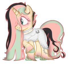Size: 1024x1024 | Tagged: safe, artist:angelofthewisp, oc, pony, unicorn, clothes, dress, female, mare, simple background, solo, transparent background