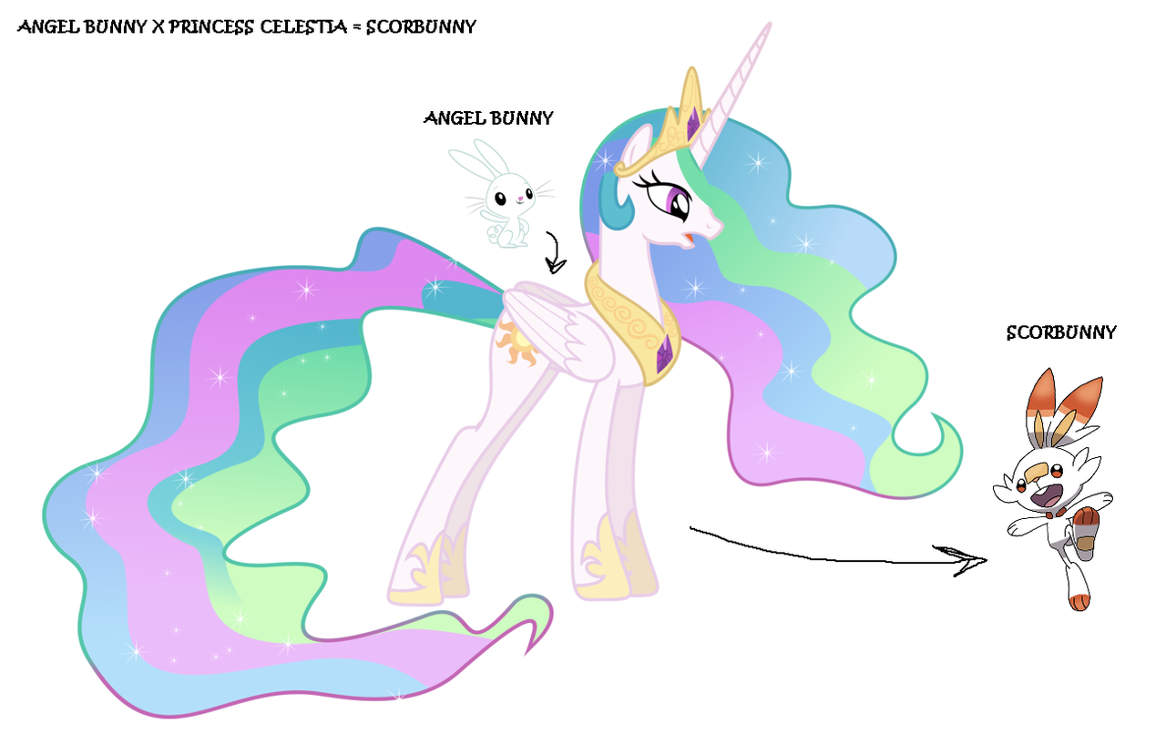 1977671 Alicorn Angel Bunny Crossover Fusion Pokemon Pokemon