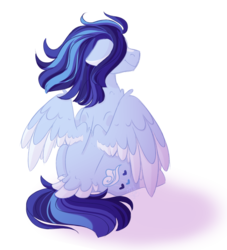 Size: 926x1022 | Tagged: artist:mah521, female, mare, oc, oc:azure, pegasus, pony, safe, simple background, sitting, solo, transparent background