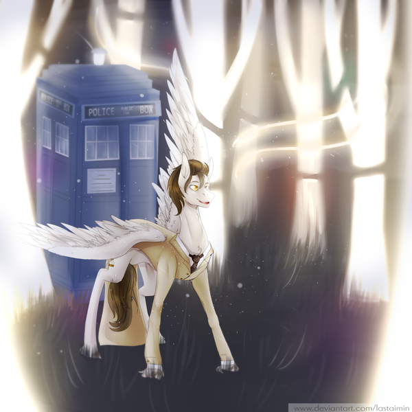 1978307 - artist:lastaimin, clothes, discord whooves, doctor who