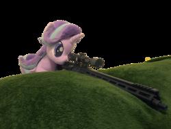 Size: 4032x3024 | Tagged: safe, artist:nekokevin, artist:yaop, starlight glimmer, pony, unicorn, series:nekokevin's glimmy, absurd resolution, aero precision, ar15, female, gun, irl, mare, photo, plushie, rifle, simple background, snipelight glimmer, solo, transparent background, weapon