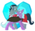 Size: 1100x1000 | Tagged: safe, artist:enigmadoodles, idw, king sombra, radiant hope, crystal pony, pony, unicorn, cape, cloak, clothes, crystal heart, female, heart, hopebra, jewelry, looking at each other, male, mare, nuzzling, reformed sombra, regalia, shipping, simple background, smiling, stallion, straight, transparent background