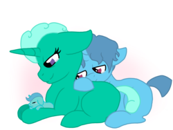 Size: 1024x768 | Tagged: safe, artist:dexterousdecarius, glitter drops, spring rain, oc, oc:dreamy gaze, pony, my little pony: the movie, abstract background, baby, baby pony, base used, colt, crying, family, father and son, female, half r63 shipping, headcanon in the description, i can't believe it's not 徐詩珮, male, missing cutie mark, mother and son, next generation, offspring, parent:glitter drops, parent:spring rain, parents:springdrops, rule 63, shipping, simple background, spring rain (male), springdrops, springdrops (straight), straight, tears of joy, transparent background
