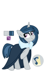 Size: 800x1280 | Tagged: artist:sandwichbuns, clothes, female, magical lesbian spawn, mare, oc, oc:curtain call, offspring, parent:octavia melody, parents:scratchtavia, parent:vinyl scratch, pony, safe, simple background, solo, transparent background, unicorn