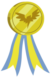 Size: 2433x3667 | Tagged: safe, artist:dragonchaser123, uprooted, medal, no pony, object, resource, simple background, transparent background, vector, wonderbolts logo
