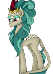 Size: 1800x2520 | Tagged: safe, artist:rockleerocks77, rain shine, kirin, pony, sounds of silence, canon