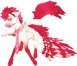 Size: 1636x1413 | Tagged: accessories, accessory, airbrushed, airbrushing, allergic, allergies, artist:c0nners, blurry, blushing, clothes, collar, crying, dripping, feather, floppy ears, gradient markings, gradients, hooves, illness, long legs, long tail, male, markings, muzzle, muzzle markings, necktie, nervous, nose running, oc, oc:bloodshot, open mouth, pegasus, pegasus wings, pink, pink muzzle, pony, present, raised tail, realistic, realistic anatomy, realistic horse legs, red, red eyes, red hair, red mane, runny nose, sad, safe, semirealism, semirealistic, shirt collar, sick, simple background, skinny, snot, solo, spiky hair, spiky mane, spread wings, stallion, tail, transparent background, trotting, unnerving, walking, weird, white, wing markings, wings