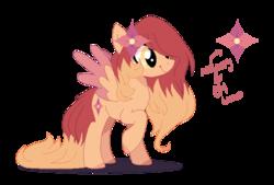 Size: 689x466 | Tagged: safe, artist:foxysparkle, oc, pegasus, pony, female, mare, simple background, solo, transparent background