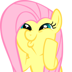 Size: 7110x7135 | Tagged: artist:rainbowplasma, bust, cute, dashface, female, fluttershy, funny face, hilarious in hindsight, hooves on cheeks, mare, part of a set, pegasus, pony, safe, shyabetes, silly, silly pony, simple background, so awesome, solo, squishy cheeks, transparent background