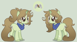 Size: 2190x1201 | Tagged: safe, artist:chaostrical, artist:foxysparkle, oc, oc:margaret, pony, unicorn, base used, female, mare, simple background, solo