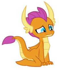 Size: 6337x7640 | Tagged: absurd res, .ai available, artist:aplex, cute, dragon, dragoness, female, kneeling, safe, simple background, smiling, smolder, smolderbetes, solo, spoiler:s09e03, transparent background, uprooted, vector