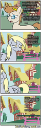 Size: 1280x4000 | Tagged: artist:outofworkderpy, comic, comic:out of work derpy, crying, derpy hooves, ditzy doo, duo, female, implied lyra, male, mare, oc, oc:jayson thiessen, outofworkderpy, pegasus, pony, ponyville, sad, safe, stallion, tumblr, tumblr comic, unicorn