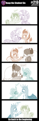 Size: 800x2470 | Tagged: artist:sintakhra, boop, changedling, changeling, classical unicorn, cloven hooves, cute, diaocelles, diastreamies, dragon, gallabetes, gallus, griffon, leonine tail, ocellus, pony, safe, sandabetes, sandbar, silverstream, smolder, smolderbetes, stair keychain, student six, tumblr:studentsix, unicorn, unshorn fetlocks, yak, yona, yonadorable