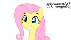 Size: 6000x3374 | Tagged: absurd res, armenian, artist:yourfavoritesenpai, fluttershy, pony, safe, simple background, solo, squee, transparent background, vector