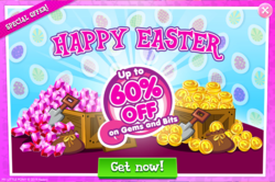 Size: 1041x693 | Tagged: advertisement, easter, gameloft, holiday, official, safe