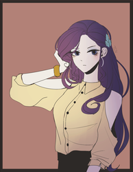 Size: 1400x1800 | Tagged: safe, artist:tcn1205, rarity, human, equestria girls, clothes, female, humanized, pony coloring, solo