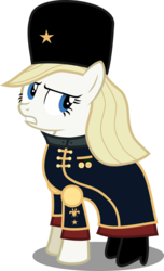 Size: 4575x7545 | Tagged: safe, artist:atomicmillennial, oc, oc:ivana, pony, absurd resolution, age of empires iii, cossack, simple background, solo, transparent background, vector