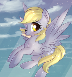 Size: 1963x2110 | Tagged: artist:autumnvoyage, derpy hooves, female, mare, pegasus, pony, safe, smiling, solo