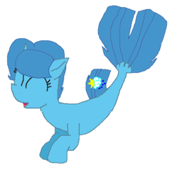 Size: 1464x1486 | Tagged: artist:徐詩珮, cute, eyes closed, female, mare, my little pony: the movie, pony, safe, seaponified, seapony (g4), seapony spring rain, solo, species swap, springbetes, spring rain, unicorn, vector