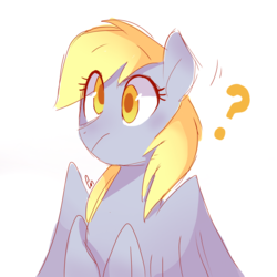 Size: 1777x1777 | Tagged: artist:pinweena30, blushing, cute, derpy hooves, female, pegasus, pony, safe, shy, solo