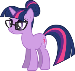 Size: 6000x5688 | Tagged: absurd res, artist:twilirity, cute, equestria girls, equestria girls ponified, female, glasses, mare, ponified, pony, safe, sci-twi, simple background, solo, transparent background, twiabetes, twilight sparkle, unicorn, unicorn sci-twi, vector