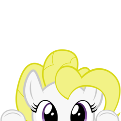 Size: 10000x10000 | Tagged: absurd res, artist:mrkat7214, cute, g1, g1 to g4, generation leap, part of a set, peekaboo, peeking, pony, safe, simple background, solo, soon, surprise, transparent background, vector
