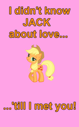 Size: 500x800 | Tagged: applejack, artist needed, holiday, pony, safe, valentine's day