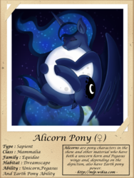 Size: 1000x1333 | Tagged: alicorn, artist:vavacung, ethereal mane, female, full moon, moon, pony, princess luna, safe, series:fantastic creatures of equestria, sleeping, starry mane, tangible heavenly object