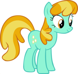 Size: 1920x1838 | Tagged: cheerilee, earth pony, edit, female, fusion, lightning dust, mare, palette swap, pony, ponyar fusion, recolor, safe, simple background, solo, transparent background, vector, vector edit
