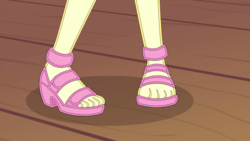 Size: 1920x1080 | Tagged: safe, edit, edited screencap, editor:sonic ranger, screencap, fluttershy, equestria girls, equestria girls series, spring breakdown, spoiler:eqg series (season 2), feet, fetish, foot fetish, foot focus, legs, open-toed shoes, pictures of legs