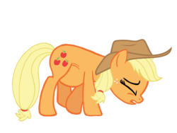 Size: 1024x768 | Tagged: applejack, applejack's hat, artist:turnaboutart, base used, cowboy hat, cutie mark, earth pony, hat, pregnant, safe, solo