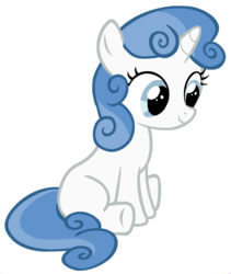 Size: 1500x1776 | Tagged: edit, fancypants, female, filly, foal, fusion, palette swap, pony, ponyar fusion, recolor, safe, simple background, sitting, solo, sweetie belle, transparent background, unicorn, vector, vector edit