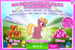 Size: 1034x686 | Tagged: advertisement, costs real money, female, gameloft, gem, mare, official, safe