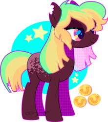 Size: 1280x1445 | Tagged: artist:daydreamprince, earth pony, female, mare, oc, oc:ally loot, pony, safe, solo