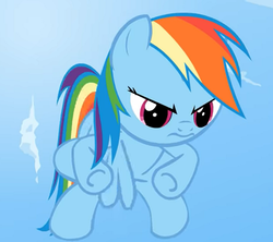 Size: 660x586 | Tagged: pegasus, pony, rainbow dash, safe, smile hd, solo, youtube link
