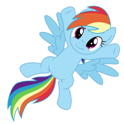 Size: 2000x2000 | Tagged: safe, artist:ashidaru, rainbow dash, pegasus, pony, cute, dashabetes, female, looking at you, mare, on back, show accurate, simple background, smiling, solo, transparent background