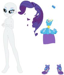 Size: 552x644 | Tagged: safe, artist:cartoonmasterv3, artist:ra1nb0wk1tty, rarity, equestria girls