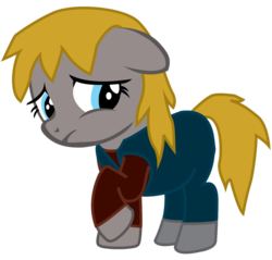 Size: 914x874 | Tagged: alien (franchise), artist:ejlightning007arts, crossover, earth pony, female, filly, newt, pony, raised hoof, safe, scared