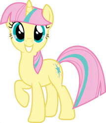 Size: 1920x2233 | Tagged: edit, female, fluttershy, fusion, looking at you, mare, palette swap, pony, ponyar fusion, raised hoof, recolor, safe, simple background, smiling, solo, transparent background, twilight sparkle, unicorn, unicorn fluttershy, unicorn twilight, vector, vector edit