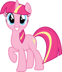 Size: 1920x2233 | Tagged: edit, female, fusion, looking at you, mare, palette swap, pinkie pie, pony, ponyar fusion, raised hoof, recolor, safe, simple background, smiling, solo, transparent background, twilight sparkle, unicorn, unicorn pinkie pie, unicorn twilight, vector, vector edit