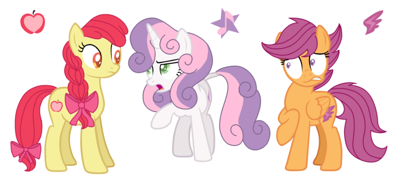 2026736 Alternate Cutie Mark Apple Bloom Artist Musical Medic Cutie Mark Crusaders Older Pony Safe Scootaloo Simple Background Sweetie Belle Transparent Background Derpibooru This is just an illustration, the body shape & colors are not guaranteed to reflect the actual design. sweetie belle