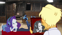 Size: 1920x1080 | Tagged: safe, ragamuffin (equestria girls), rarity, equestria girls, equestria girls series, spring breakdown, the other side, spoiler:eqg series (season 2), draw me like one of your french girls, female, male, rarimuffin, shipping, straight, titanic