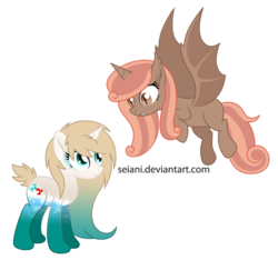 Size: 800x748 | Tagged: safe, artist:seiani, oc, oc only, alicorn, bat pony, bat pony alicorn, original species, pony, water pony, alicorn oc, female, mare, simple background, transparent background