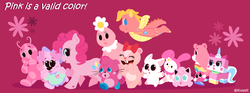 Size: 1924x714 | Tagged: artist:kuqqiz, care bears, cassie (dragontales), cheer bear, crossover, dragon tales, electoon, foofa, giggles (happy tree friends), happy tree friends, hello kitty, jigglypuff, lego, moshi monsters, my melody, pammee, paw trails, pinkie pie, pokémon, pola, poppet, rayman, safe, sanrio, the backyardigans, the lego movie, unikitty, uniqua, yo gabba gabba, yoohoo & friends