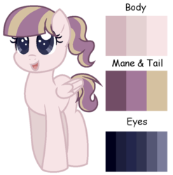 Size: 600x607 | Tagged: artist:otakuchicky1, base used, female, filly, next generation, oc, oc:crystal feather, oc only, offspring, parent:diamond tiara, parent:featherweight, parents:diamondweight, parents:feathertiara, pegasus, pegasus oc, pony, safe, solo